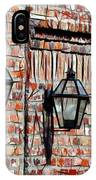 Lanterns In The Courtyard IPhone Case