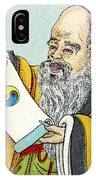 Lao Tse, Chinese Philosopher IPhone Case
