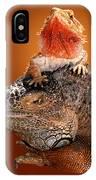 Lap Lizard IPhone Case