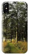 Larchill Arcadian Garden, County IPhone Case