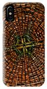 Largest Round Barn Ceiling IPhone Case