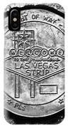Las Vegas Strip Street Medallion IPhone Case