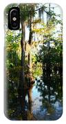 Late Afternoon At The Swamp IPhone Case
