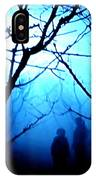 Late Full Moon Walk In The Wild Forest IPhone Case