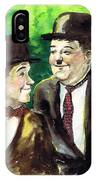 Laurel And Hardy IPhone Case