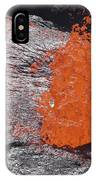 Lava Bursting At Edge Of Active Lava IPhone Case