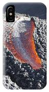 Lava Flow On The Flank Of Pacaya IPhone Case