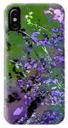 Lavender 2 IPhone Case