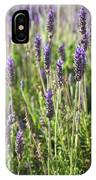 Lavender Flowers IPhone Case