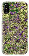 Lavish Leaves 6 IPhone Case