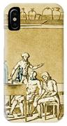 Lavoisier Experimenting IPhone Case