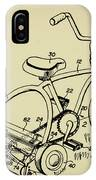Lawnmower Tricycle Patent IPhone Case