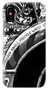 Le Car In Black And White IPhone Case