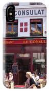 Le Consulat Cafe  IPhone Case