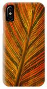 Leaf Pattern Abstract IPhone Case