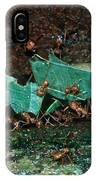 Leafcutter Ants IPhone Case
