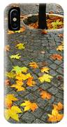 Leafs In Ground IPhone Case