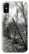 Leaning Fence IPhone Case