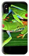 Leap Frog IPhone Case