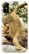 Leaping Leopard IPhone Case