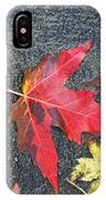 Leave The Leaves IPhone Case