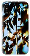 Leaves And Sky IPhone Case