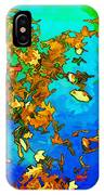 Leaves In A Pond IPhone Case