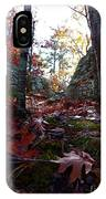 Leaves In The Forest IPhone Case