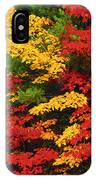 Leaves On Trees Changing Colour IPhone Case
