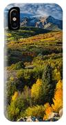 Leaves Turning At Dallas Divide IPhone Case