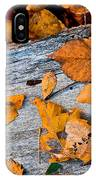 Leaves3 IPhone Case