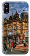 Leeds Kirkgate Market IPhone Case