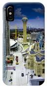 Legoland Dallas Iv IPhone Case