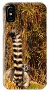 Lemur Tail IPhone Case