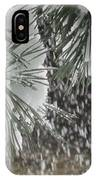 Leo In The Snow Storm IPhone Case