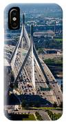 Leonard Yakim Bunker Hill Memorial Bridge IPhone Case