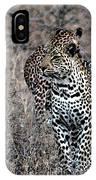 Leopard Hunt IPhone Case