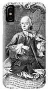 Leopold Mozart (1719-1787) IPhone Case