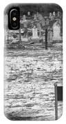 Leper Graveyard On Robben Island IPhone Case