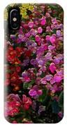 les fleurs II IPhone Case