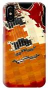 Classic Guitar Abstract IPhone Case