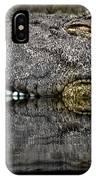 Let Sleeping Crocs Lie IPhone Case