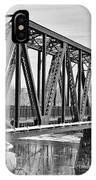 Lewiston-auburn Railroad Bridge IPhone Case