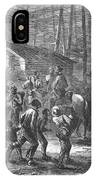 Liberating Slaves, 1864 IPhone Case