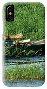 Life Along The Nile IPhone Case