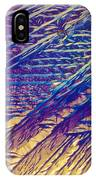 Light Micrograph Of Zalcitabine Ddc IPhone Case