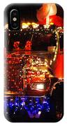 Lighted Cement Truck IPhone Case