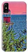 Lighthouse Hdr IPhone Case