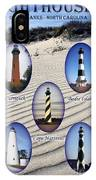 Lighthouses Of The Outer Banks IPhone Case