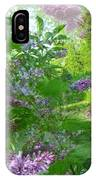 Lilac In The Air IPhone Case